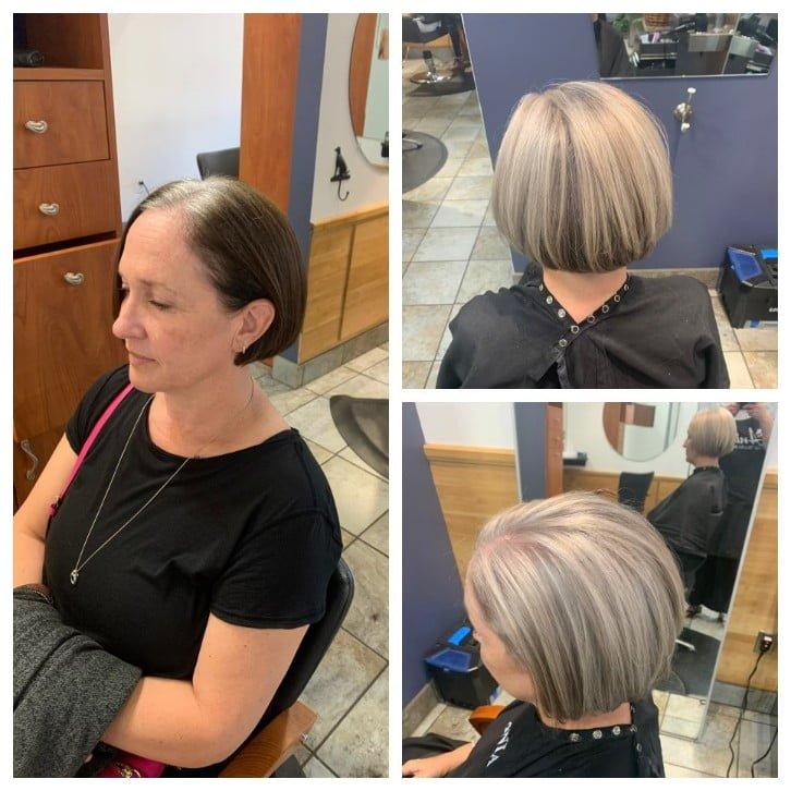 Ania Hair Salon_ short haircut
