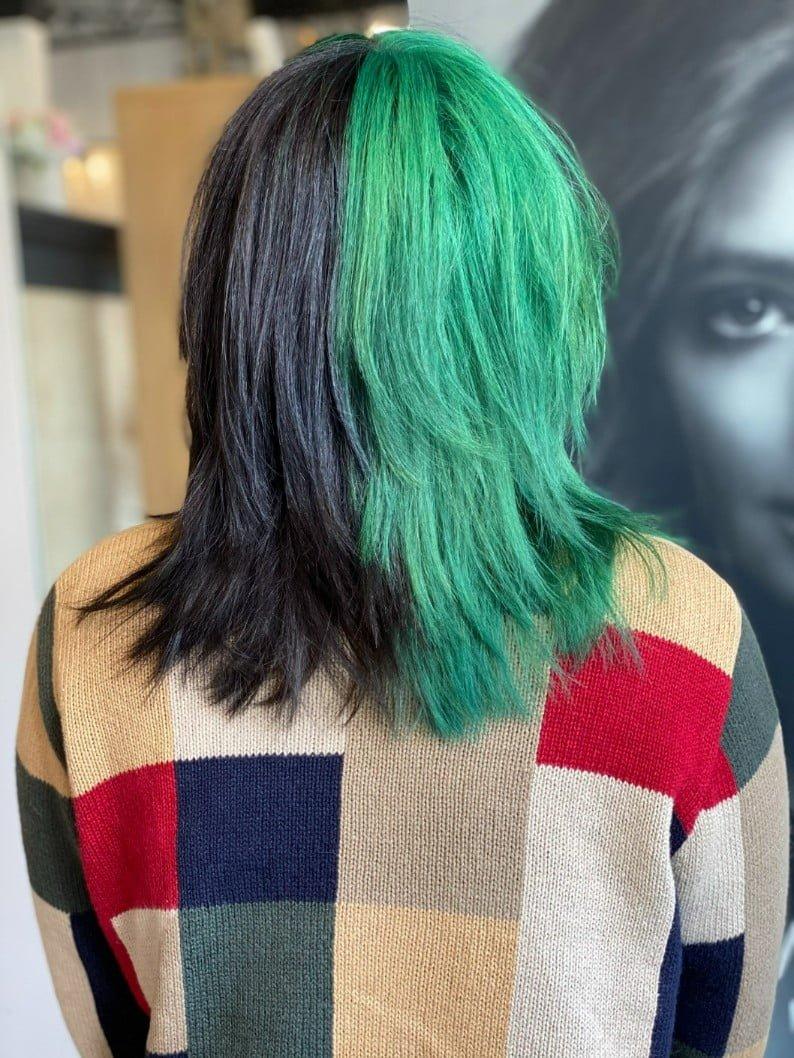 Ania Hair Salon_ Albany-NY_green and black hair